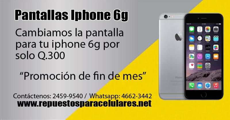 reparacion pantalla iphone