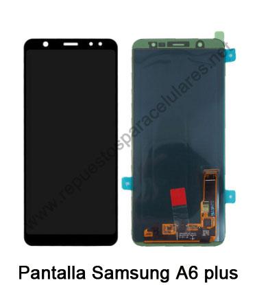 Pantalla Samsung A6 Plus
