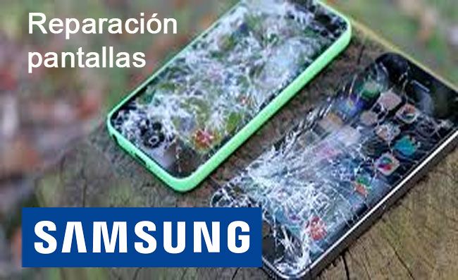 Reparacion pantallas Celulares Samsung