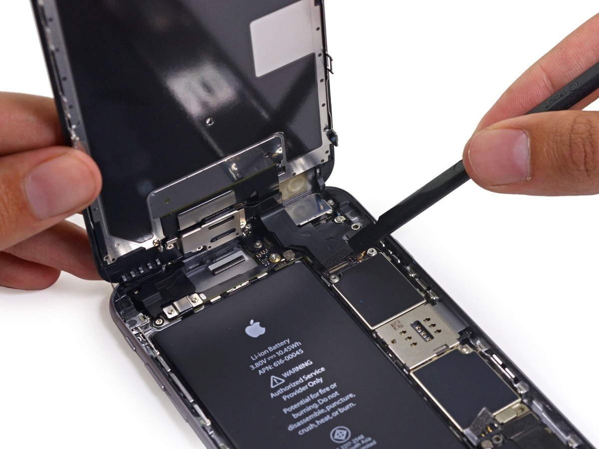 reparacion de iphone 6 plus con problema de touch
