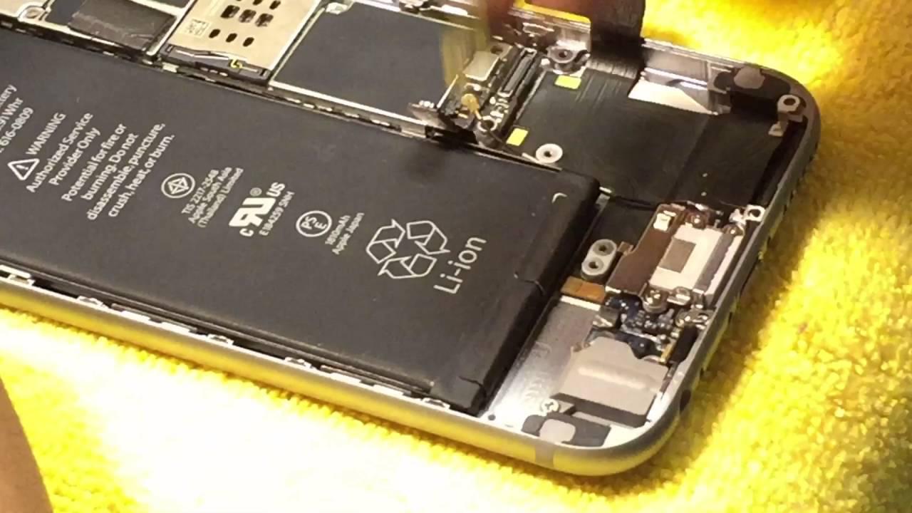 reparacion iphone 6 sin señal